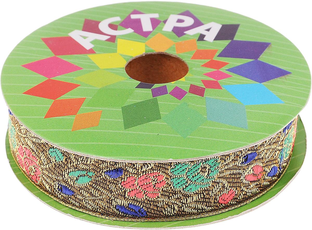 Тесьма декоративная Астра, цвет: болотный, зеленый (С19), ширина 2,5 см, длина 9 м. 77034337703433_С19Декоративная тесьма Астра выполнена из текстиля и оформлена оригинальным орнаментом. Такая тесьма идеально подойдет для оформления различных творческих работ таких, как скрапбукинг, аппликация, декор коробок и открыток и многое другое. Тесьма наивысшего качества и практична в использовании. Она станет незаменимым элементом в создании рукотворного шедевра. Ширина: 2,5 см. Длина: 9 м.