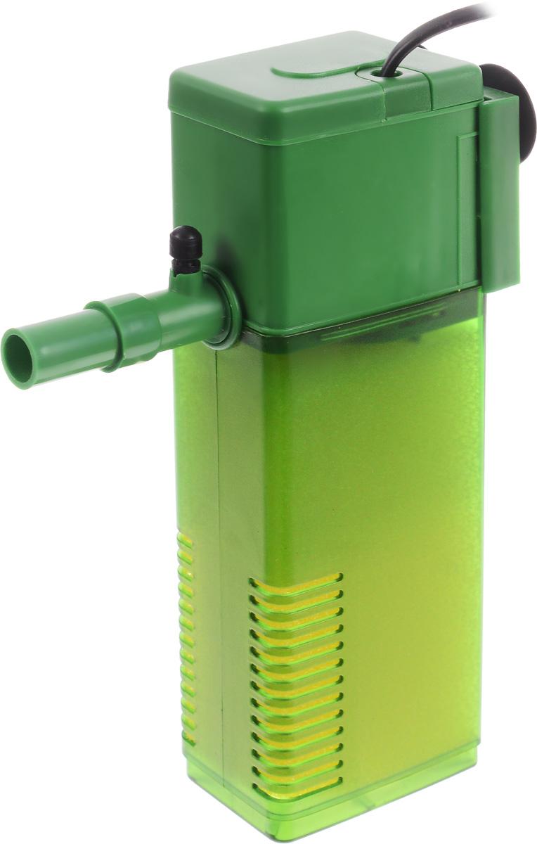 Фильтр для воды Barbus WP- 350F, аквариумный, с регулятором, 1200 л/чFILTER 006Barbus WP- 350F предназначен для фильтрации воды в аквариумах. Механическая фильтрация происходит за счет губки, которая поглощает грязь и очищает воду. Фильтр равномерно распределяет поток воды в аквариуме, имеет дополнительную насадку с возможностью аэрации воды. Подходит для пресной и соленой воды. Фильтр полностью погружной. Мощность: 25 Вт. Напряжение: 220-240В. Частота: 50/60 Гц. Производительность: 1200 л/ч. Рекомендованный объем аквариума: 150-250 л. Уважаемые клиенты! Обращаем ваше внимание на возможные изменения в цвете некоторых деталей товара. Поставка осуществляется в зависимости от наличия на складе.