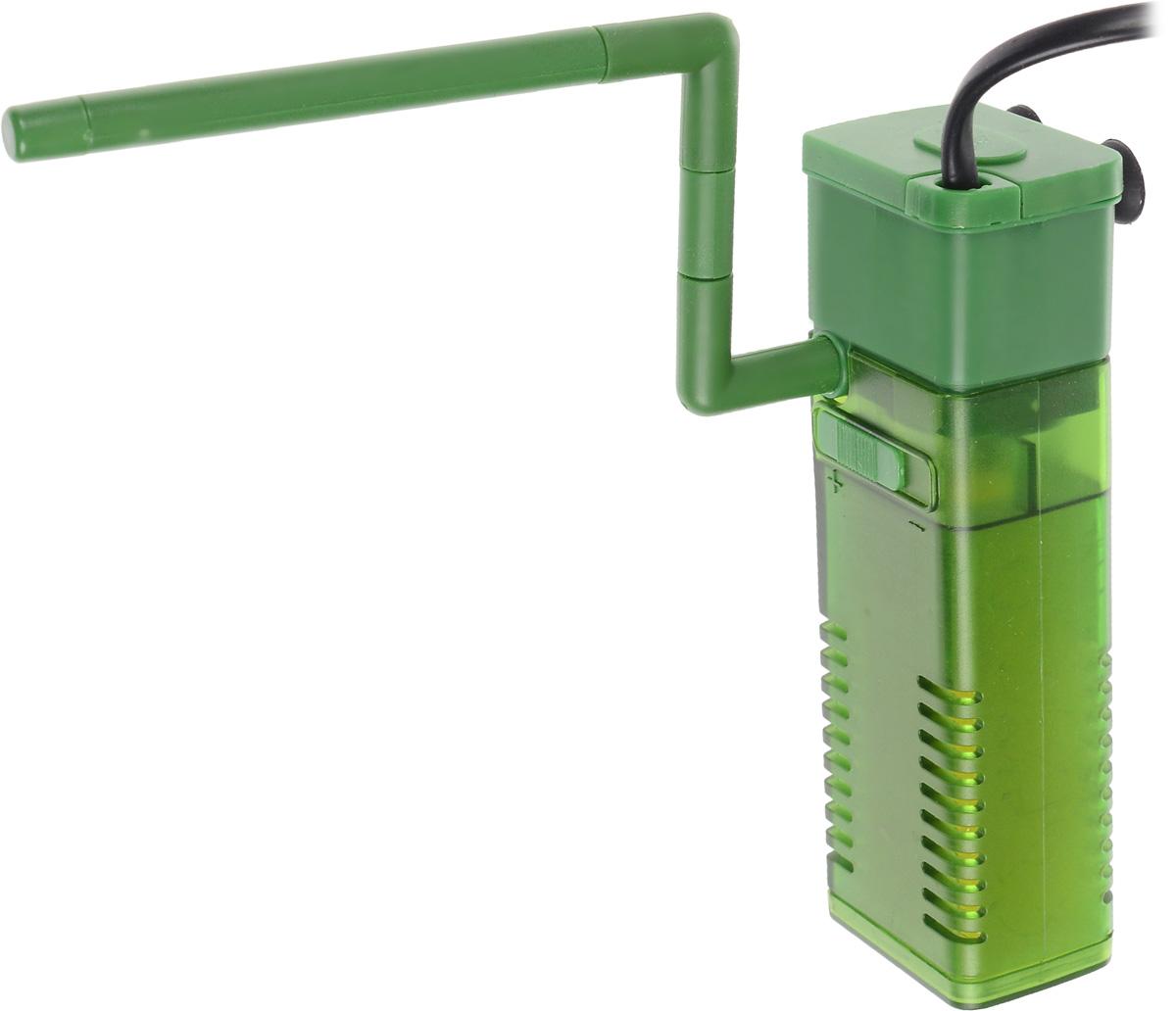 Фильтр для воды Barbus WP- 320F, аквариумный, с регулятором и флейтой, 500 л/чFILTER 003Barbus WP- 320F предназначен для фильтрации воды в аквариумах. Механическая фильтрация происходит за счет губки, которая поглощает грязь и очищает воду. Фильтр равномерно распределяет поток воды в аквариуме с помощью системы Водяная флейта. Имеет дополнительную насадку с возможностью аэрации воды. Подходит для пресной и соленой воды. Фильтр полностью погружной. Мощность: 5 Вт. Напряжение: 220-240В. Частота: 50/60 Гц. Производительность: 500 л/ч. Рекомендованный объем аквариума: 30-70 л. Уважаемые клиенты! Обращаем ваше внимание на возможные изменения в цвете некоторых деталей товара. Поставка осуществляется в зависимости от наличия на складе.