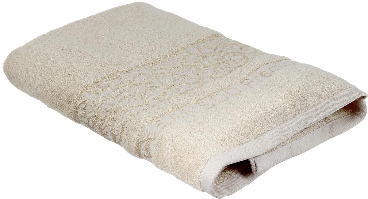 Полотенце Bonita Миндаль, цвет: светло-бежевый, 70 х 140 см1010216331Полотенце Bonita Миндаль изготовлено из мягкой смесовой ткани (30% хлопок и 70% бамбук) и оформлено рисунком с узорами. Полотенце идеально впитывает влагу и сохраняет свою необычайную мягкость даже после многих стирок. Полотенце Bonita - отличный вариант для практичной и современной хозяйки. С ним ваш дом наполнится красотой и только прекрасными эмоциями.
