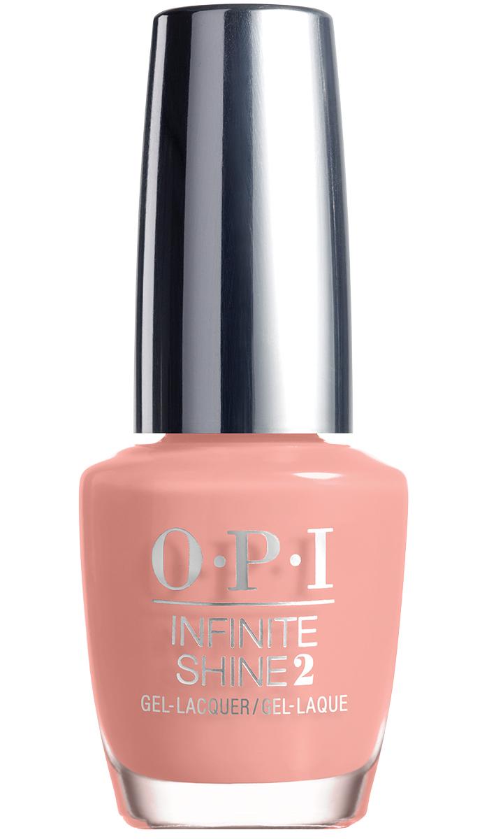 """OPI Infinite Shine Лак для ногтей Don't Ever Stop!, 15 млISL70""""Линия Infinite Shine была разработана в ответ на желание покупателей получить лаковые покрытия, по свойствам не уступающие гелевым, которые при этом имели бы самые модные оттенки, обладали уникальной формулой и носили культовые имена, которыми так знаменита компания OPI,"""" - объясняет Сюзи Вайс-Фишманн, соучредитель и исполнительный вице-президент OPI. """"Покрытие Infinite Shine наносится и снимается точно так же, как и обычные лаки для ногтей, однако вы получаете те самые блеск и стойкость, которые отличают гелевую формулу!"""" Палитра Infinite Shine включает в себя широкий спектр оттенков, от нейтральных до ярко-красных, оранжевых, розовых, а далее до темно-серых, синих и черного. Лаки Infinite Shine имеют запатентованную формулу. Каждый флакон снабжен эксклюзивной кистью ProWide™ для идеального нанесения."""