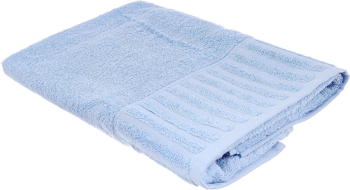 Полотенце Bonita Голубика, цвет: голубой, 50 х 90 см1011116017Полотенце Bonita Голубика изготовлено из натурального хлопка и оформлено бордюром с полосками. Полотенце идеально впитывает влагу и сохраняет свою необычайную мягкость даже после многих стирок. Создать поистине особую атмосферу вы сможете с помощью такого полотенца. Оно изготавливается из натуральных материалов и обладает свежими и приятными оттенками. С ним ваш дом наполнится красотой и только прекрасными эмоциями.