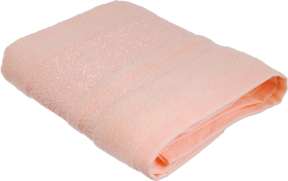 Полотенце Bonita Коралл, цвет: розовый, 50 х 90 см1010216325Полотенце Bonita Коралл изготовлено из мягкой смесовой ткани (30% хлопок и 70% бамбук). Полотенце идеально впитывает влагу и сохраняет свою необычайную мягкость даже после многих стирок. Полотенце Bonita - отличный вариант для практичной и современной хозяйки. С ним ваш дом наполнится красотой и только прекрасными эмоциями.