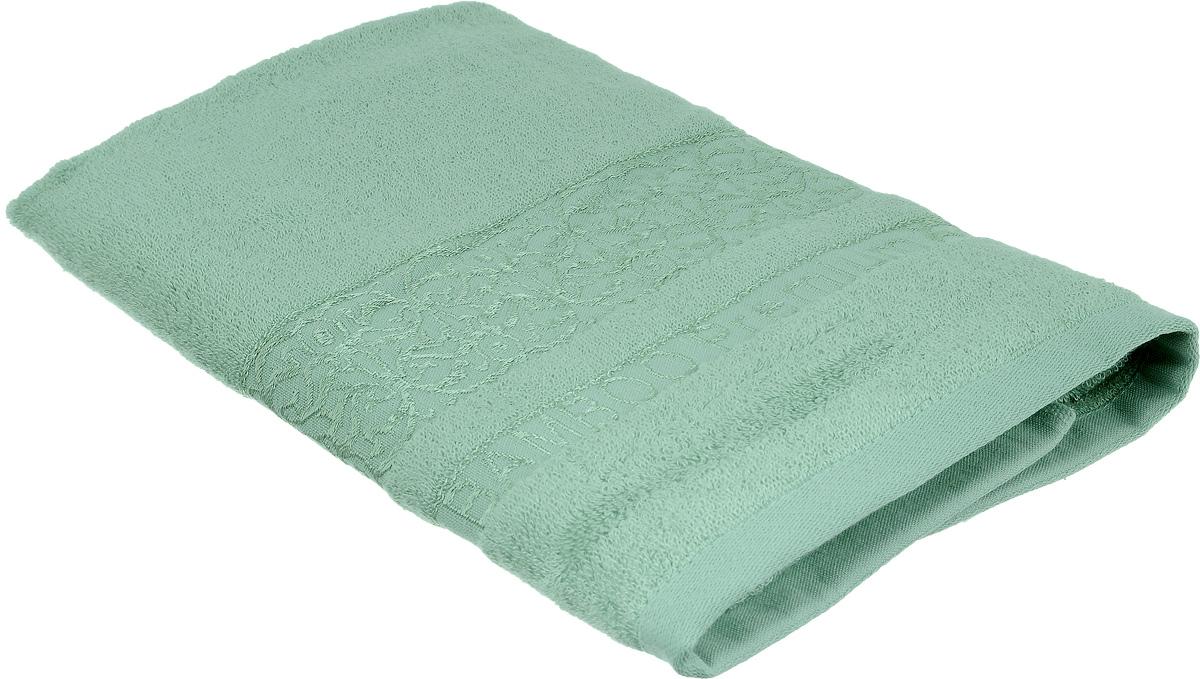Полотенце Bonita Аква, цвет: светло-зеленый, 50 х 90 см1010216326Полотенце Bonita Аква изготовлено из мягкой смесовой ткани (30% хлопок и 70% бамбук). Полотенце идеально впитывает влагу и сохраняет свою необычайную мягкость даже после многих стирок. Полотенце Bonita - отличный вариант для практичной и современной хозяйки. С ним ваш дом наполнится красотой и только прекрасными эмоциями.