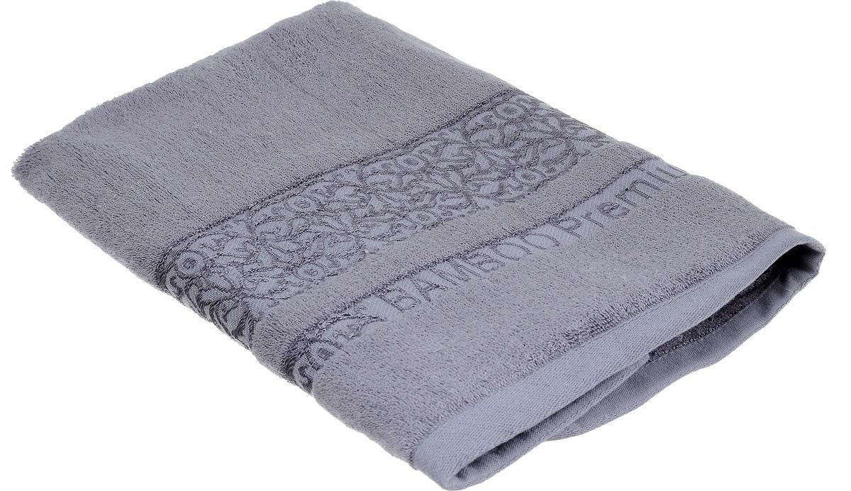 Полотенце Bonita Графит, цвет: темно-серый, 50 х 90 см1010216328Полотенце Bonita Графит изготовлено из мягкой смесовой ткани (30% хлопок и 70% бамбук). Оформлено рисунком с узорами. Полотенце идеально впитывает влагу и сохраняет свою необычайную мягкость даже после многих стирок. Полотенце Bonita - отличный вариант для практичной и современной хозяйки. С ним ваш дом наполнится красотой и только прекрасными эмоциями.