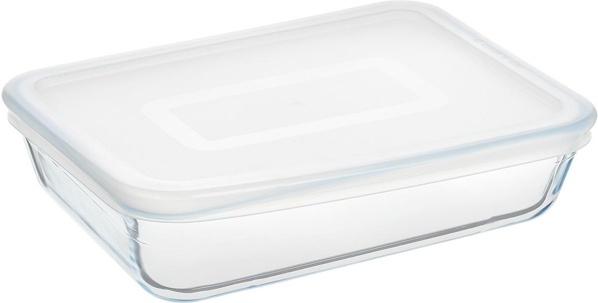 Форма для запекания Pyrex Cook & Store, с крышкой, прямоугольная, 19 х 14 см241P000/5046Форма для запекания Pyrex Cook & Store изготовлена из закаленного боросиликатного стекла, что отвечает строгим европейским нормам безопасности EN 1183. Такое стекло обладает повышенной ударопрочностью, жаростойкостью (от -40°С до +300°С) и выдерживает резкий перепад температур в 220°С. Форма также устойчива к образованию пятен и царапин, не впитывает посторонние запахи. Изделие экологично, поэтому безопасно для использования. Форма прямоугольная, удобна для запекания мяса, курицы, овощей, приготовления жаркое. Снабжена пластиковой, плотно закрывающейся крышкой. Подходит для духовки, микроволновой печи, можно мыть в посудомоечной машине, ставить в холодильник и морозильную камеру. Крышка не предназначена для использования в духовке.