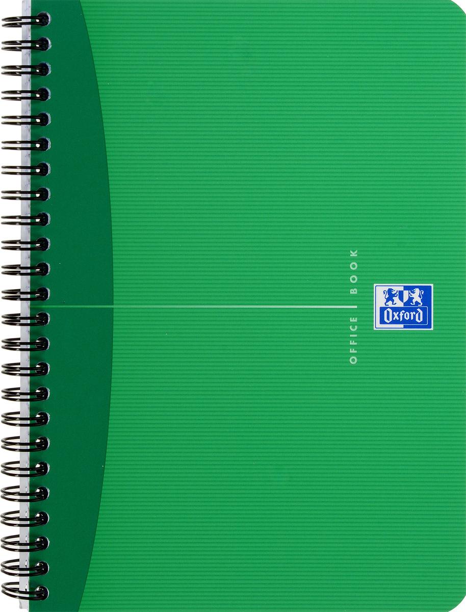 Oxford Тетрадь Essentials 90 листов в клетку цвет зеленый822566_зеленыйСтильная практичная тетрадь Oxford Essentials отлично подойдет для офиса и учебы. Тетрадь формата А5 состоит из 90 белых листов с четкой яркой линовкой в клетку. Обложка тетради выполнена из ламинированного картона и оформлена символом Оксфордского университета. Двойная спираль надежно удерживает листы. Также тетрадь имеет скругленные углы и гибкую съемную закладку-линейку из матового полупрозрачного пластика с изображением лондонского Биг Бена.