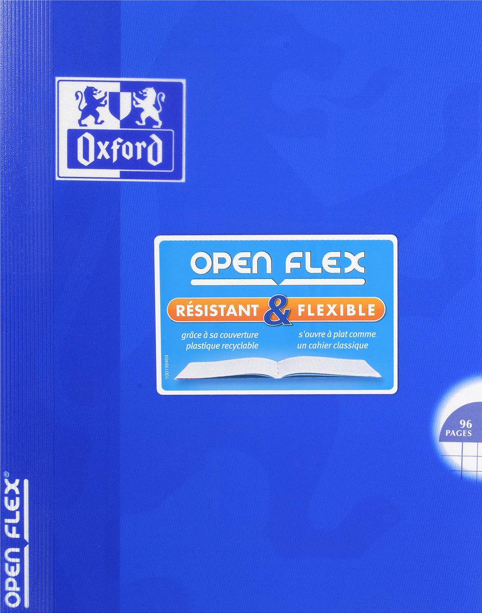 Oxford Тетрадь Openflex 48 листов в клетку цвет синий400009124Красивая и практичная тетрадь Oxford Openflex отлично подойдет для офиса и учебы. Тетрадь формата А5 состоит из 48 белых листов с полями и четкой яркой линовкой в клетку. Обложка тетради выполнена из плотного полупрозрачного полипропилена и оформлена символом Оксфордского университета. Металлические скрепки надежно удерживают листы. Также тетрадь имеет скругленные углы и страничку для заполнения данных владельца.