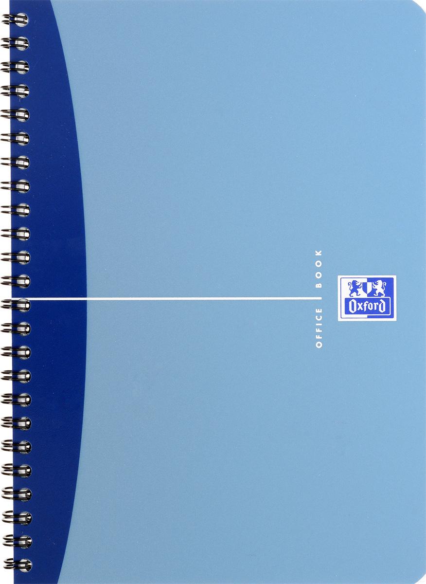 Oxford Тетрадь Urban Mix 50 листов в клетку цвет синий100100415Красивая и практичная тетрадь Oxford Urban Mix отлично подойдет для офиса и учебы. Тетрадь формата А5 состоит из 50 белых листов с четкой яркой линовкой в клетку. Обложка тетради выполнена из плотного полипропилена и оформлена символом Оксфордского университета. Двойная спираль надежно удерживает листы. Также тетрадь имеет скругленные углы и гибкую съемную закладку-линейку из матового полупрозрачного пластика с изображением лондонского Биг Бена.