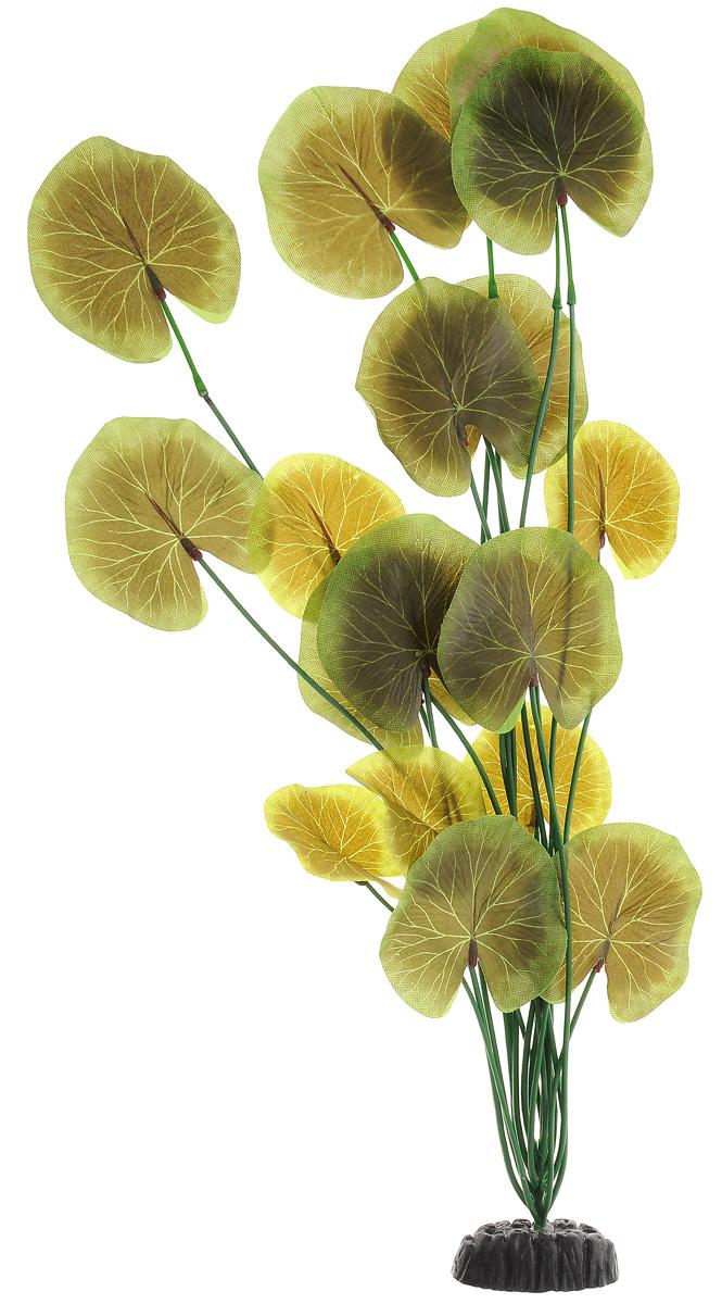 Растение для аквариума Barbus Лотос, шелковое, высота 50 смPlant 053/50Растение для аквариума Barbus Лотос, выполненное из высококачественного нетоксичного пластика и шелка, станет прекрасным украшением вашего аквариума. Шелковое растение идеально подходит для дизайна всех видов аквариумов. В воде происходит абсолютная имитация живых растений. Изделие не требует дополнительного ухода и просто в применении. Растение абсолютно безопасно, нейтрально к водному балансу, устойчиво к истиранию краски, подходит как для пресноводного, так и для морского аквариума. Растение для аквариума Barbus Лотос поможет вам смоделировать потрясающий пейзаж на дне вашего аквариума или террариума.