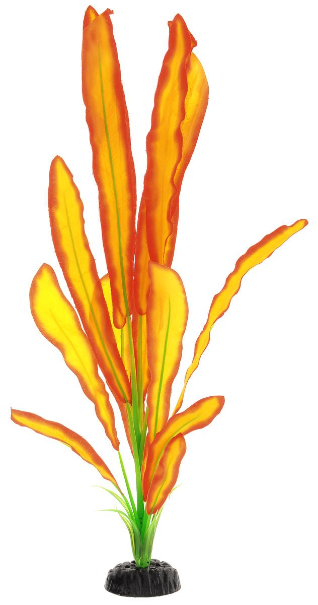 Растение для аквариума Barbus Эхинодорус Бартхи, шелковое, цвет: желтый, красный, зеленый, высота 50 смPlant 047/50Растение для аквариума Barbus Эхинодорус Бартхи, выполненное из высококачественного нетоксичного пластика и шелка, станет прекрасным украшением вашего аквариума. Шелковое растение идеально подходит для дизайна всех видов аквариумов. В воде происходит абсолютная имитация живых растений. Изделие не требует дополнительного ухода и просто в применении. Растение абсолютно безопасно, нейтрально к водному балансу, устойчиво к истиранию краски, подходит как для пресноводного, так и для морского аквариума. Растение для аквариума Barbus Эхинодорус Бартхи поможет вам смоделировать потрясающий пейзаж на дне вашего аквариума или террариума.