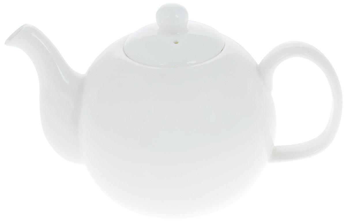 Чайник заварочный Wilmax, 1,1 л. WL-994016 / 1CWL-994016 / 1CЗаварочный чайник Wilmax изготовлен из высококачественного фарфора. Глазурованное покрытие обеспечивает легкую очистку. Изделие прекрасно подходит для заваривания вкусного и ароматного чая, а также травяных настоев. Отверстия в основании носика препятствует попаданию чаинок в чашку. Оригинальный дизайн сделает чайник настоящим украшением стола. Он удобен в использовании и понравится каждому. Можно мыть в посудомоечной машине и использовать в микроволновой печи. Диаметр чайника (по верхнему краю): 6 см. Высота чайника (без учета крышки): 10,5 см. Высота чайника (с учетом крышки): 13,5 см.