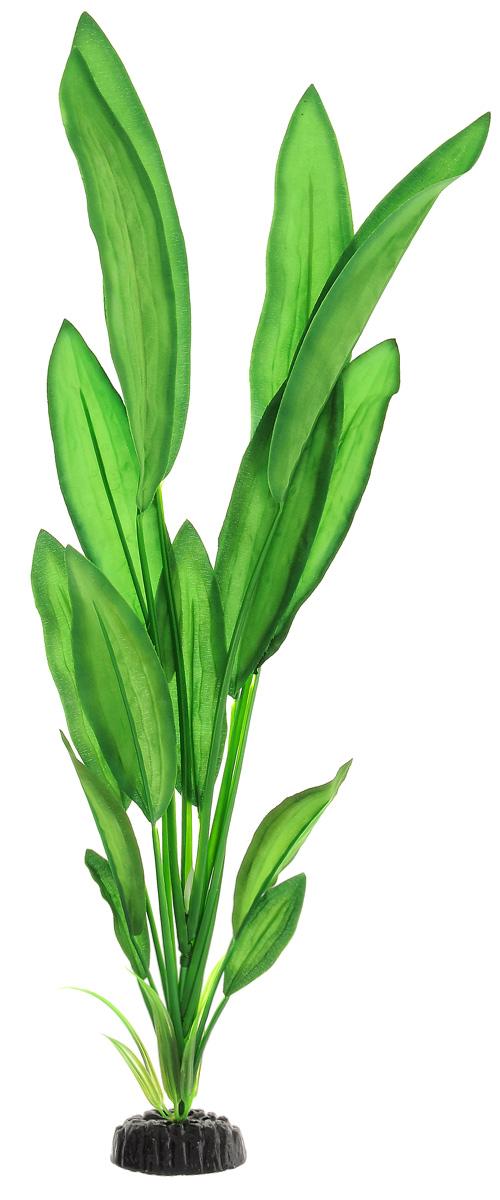 """Растение для аквариума Barbus """"Эхинодорус Майор"""", шелковое, высота 50 см"""