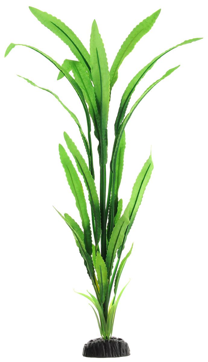 Растение для аквариума Barbus Кринум, шелковое, высота 50 смPlant 038/50Растение для аквариума Barbus Кринум, выполненное из высококачественного нетоксичного пластика и шелка, станет прекрасным украшением вашего аквариума. Шелковое растение идеально подходит для дизайна всех видов аквариумов. В воде происходит абсолютная имитация живых растений. Изделие не требует дополнительного ухода и просто в применении. Растение абсолютно безопасно, нейтрально к водному балансу, устойчиво к истиранию краски, подходит как для пресноводного, так и для морского аквариума. Растение для аквариума Barbus Кринум поможет вам смоделировать потрясающий пейзаж на дне вашего аквариума или террариума.