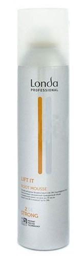 LC СТАЙЛИНГ Мусс д/прикорн объема норм фиксации LIFT IT 250 мл0990-81545301Профессиональный мусс Londa Flat Ban с микрополимерами 3D-Sculpt для создания заметно большего объема в прикорневой зоне и интенсивного увлажнения тонких волос. Визуально удваивает объем у корней волос на срок до 24 часов, улучшает фиксацию прически и обладает увлажняющими свойствами. Характеристики: Объем: 250 мл. Производитель: Германия. Товар сертифицирован.
