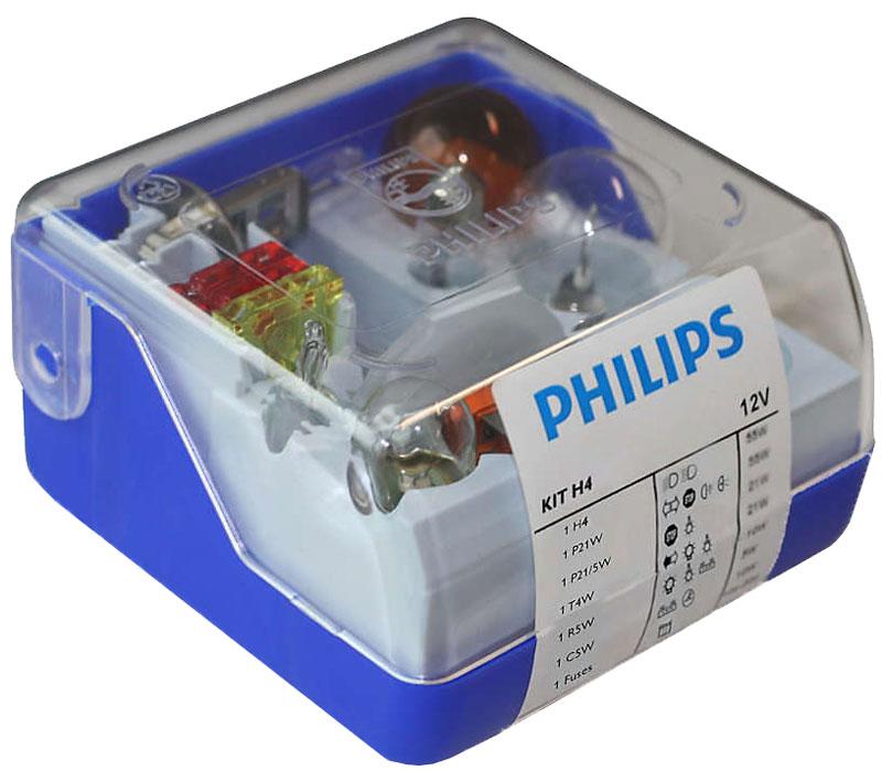 Комплект ламп Philips H4 Vision Single Kit: H4, P21W, P21/5W, PY21W, R5W, C5W, Т4W, Fuse 15A, Fuse 20A, Fuse 30A. 55005SKKM55005SKKMВ комплект Sing;e Kit входят лампы H4 для автомобильных фар, обеспечивающие на 30 % больше света. Наши лампы излучают мощный точно направленный луч света и характеризуются высокой светоотдачей, увеличивая видимость Вашего автомобиля на дороге.