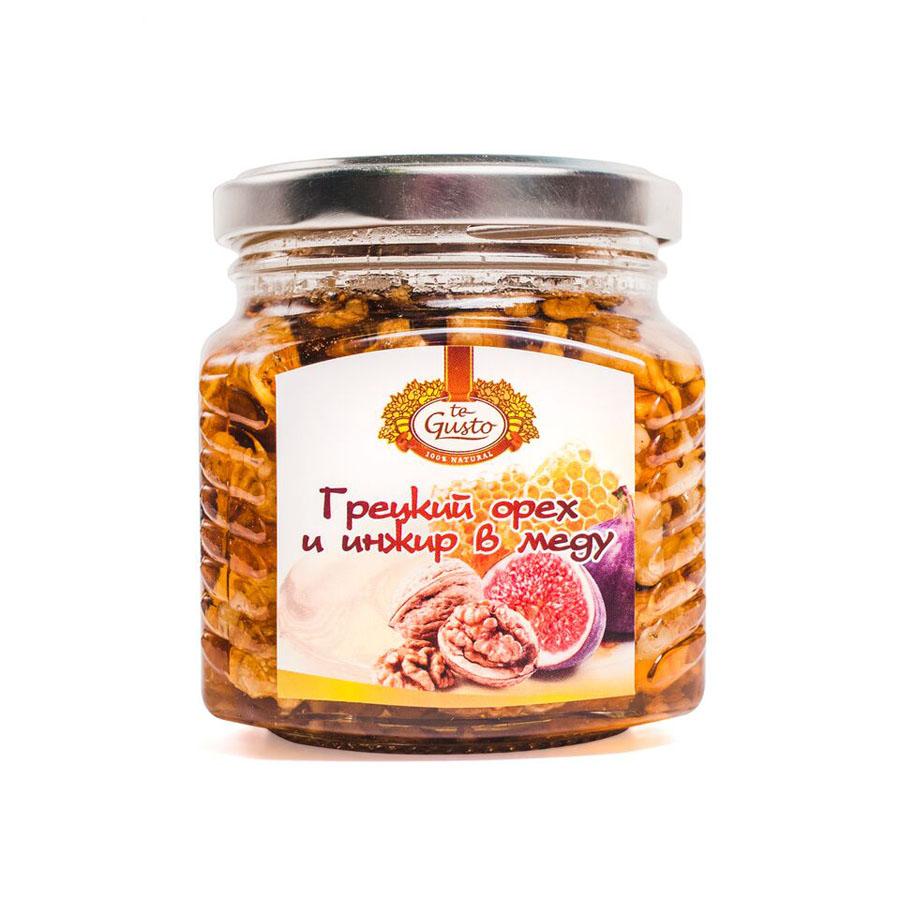 te Gusto гецкий орех и инжир в меду, 300 г