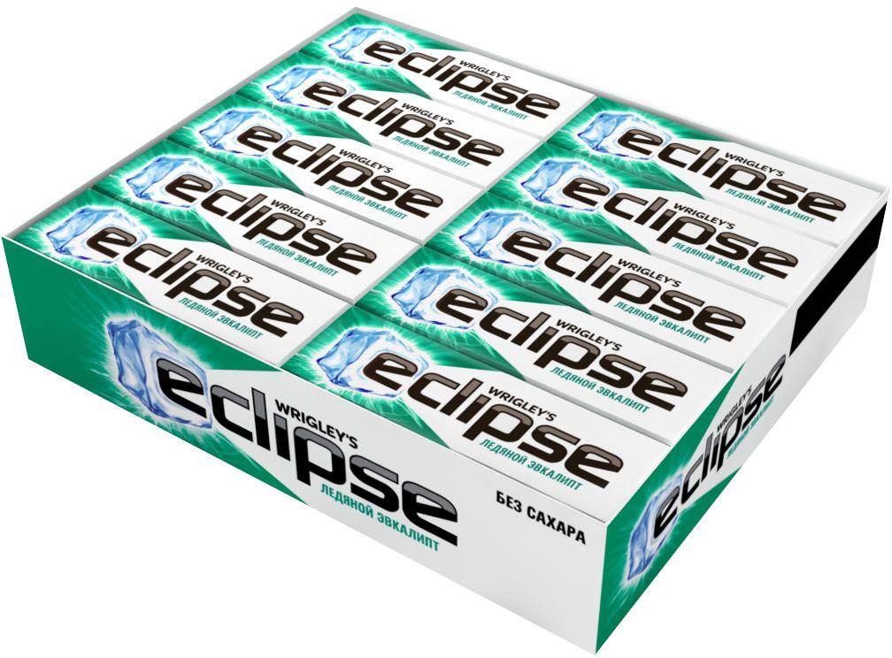 Попробуй по-настоящему ледяную свежесть. Жевательная резинка Eclipse освежает дыхание и придает уверенности в общении. Уверен в дыхании – уверен в себе