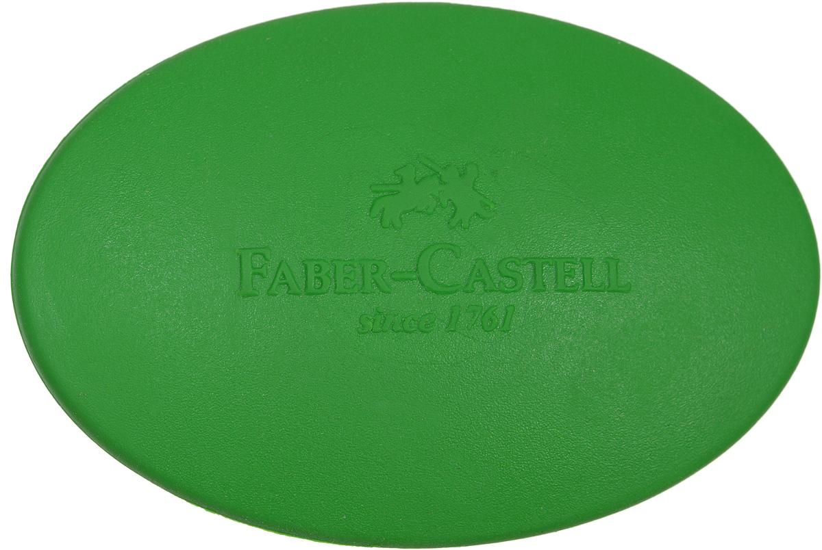 Faber-Castell Ластик овальный цвет зеленый589020_зеленыйЛастик Faber-Castell - незаменимый аксессуар на рабочем столе не только школьника или студента, но и офисного работника. Он легко и без следа удаляет надписи, сделанные карандашом. Ластик имеет форму овала, его очень удобно держать в руке.