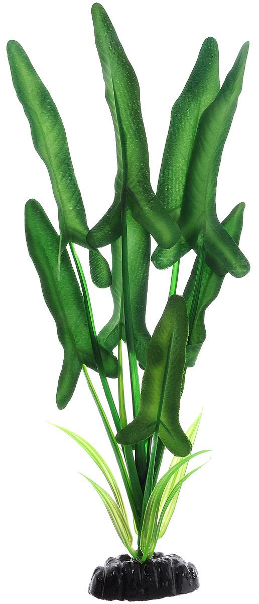 Растение для аквариума Barbus Анубиас Хастифолия, шелковое, высота 30 смPlant 035/30Растение для аквариума Barbus Анубиас Хастифолия, выполненное из качественного шелка, станет оригинальным украшением вашего аквариума. В воде происходит абсолютная имитация живого растения. Можно использовать в любой воде: пресной или морской. Изделие безопасно, не токсично, нейтрально к водному балансу, устойчиво к истиранию краски. Растение Barbus поможет вам смоделировать потрясающий пейзаж на дне вашего аквариума или террариума. Высота растения: 30 см.