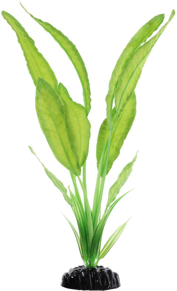 Растение для аквариума Barbus Апоногетон Натанс, шелковое, высота 30 смPlant 048/30Растение для аквариума Barbus Апоногетон Натанс, выполненное из качественного шелка, станет оригинальным украшением вашего аквариума. В воде создается абсолютная имитация живого растения. Можно использовать в любой воде: пресной или морской. Изделие безопасно, не токсично, нейтрально к водному балансу, устойчиво к истиранию краски. Растение Barbus поможет вам смоделировать потрясающий пейзаж на дне вашего аквариума или террариума. Высота растения: 30 см.