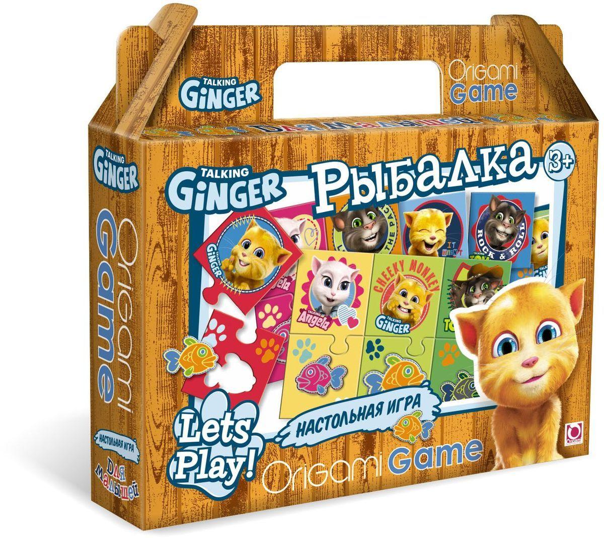 Оригами Обучающая игра Рыбалка00980Настольная игра «Рыбалка» поможет ребенку развить ассоциативные способности. В набор входят парные цветные карточки: герои мультфильма и разноцветные рыбки. Сначала нужно сопоставить карточки одинакового цвета. Затем найти рыбку определенного размера, соответствующую цвету каждого героя. Все карточки снабжены пазловыми замками, поэтому ребенок не сможет совершить ошибку. Размер пазла 34х23.Рекомендуемый возраст 3+