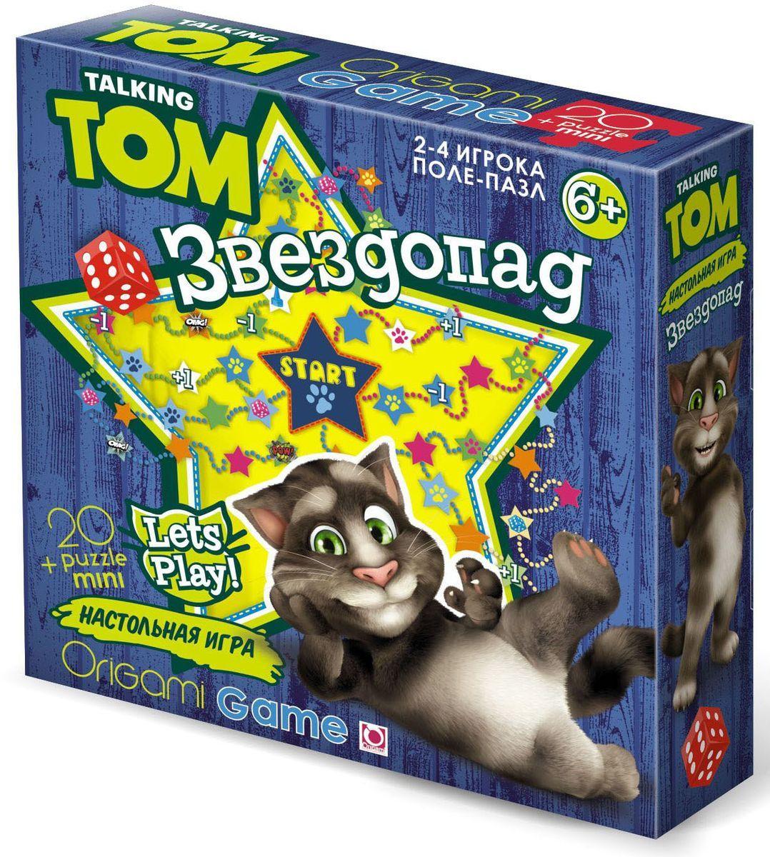 Оригами Настольная игра Звездопад00996Увлекательная настольная игра Звездопад научит ребёнка стратегически мыслить , продумывая оптимальный ход для получения очередной карточки-звёздочки. В игру могут играть одновременно 2-4 человека, игроки замечательно проведут время , собирая звёзды. Размер пазла 52х38 см , рекомендуемый возраст 6+