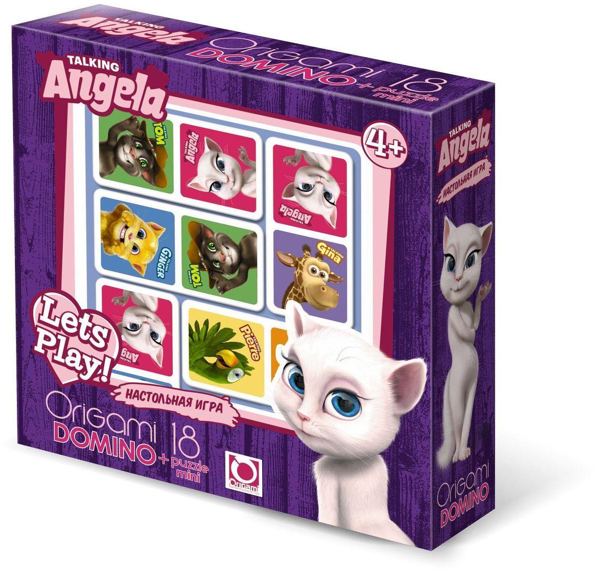 Оригами Обучающая игра Домино01009Настольная игра Домино -увлекательная и очень интересная игра , которая учит ребёнка думать, логически размышлять и анализировать. Игра направлена на развитие внимания, образного восприятия и зрительной памяти. А кото Том и его весёлые друзья сделают игру яркой и занимательной. Размер пазла 15,3х7,8 . Рекомендованный возраст46+