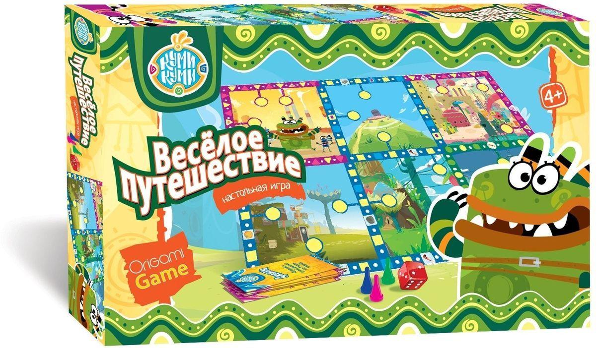 Оригами Настольная игра Веселое путешествие 01502