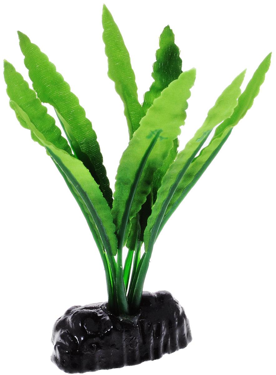 Растение для аквариума Barbus Кринум, шелковое, высота 10 смPlant 038/10Растение для аквариума Barbus Кринум, выполненное из качественного шелка, станет оригинальным украшением вашего аквариума. В воде создается абсолютная имитация живого растения. Можно использовать в любой воде: пресной или морской. Изделие полностью безопасно для обитателей аквариума, не токсично, нейтрально к водному балансу, устойчиво к истиранию краски. Растение Barbus поможет вам смоделировать потрясающий пейзаж на дне вашего аквариума или террариума. Высота растения: 10 см.