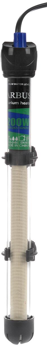 Обогреватель для аквариума Barbus HL-200W, стеклянный, с терморегулятором, 200 ВтHL-200WОбогреватель для аквариума Barbus HL-200W оснащен легкой и точной регулировкой температуры. Термостат поддерживает заданную температуру. Нагревательный элемент имеет высокую эффективность. Колба выполнена из высококачественного кварцевого стекла. Для полного погружения. Изделие крепится при мощи двух присосок на стенку аквариума. В комплект входит инструкция по эксплуатации. С таким обогревателем ваш уход за жителями аквариума станет еще приятнее и проще. Мощность: 200 Вт. Напряжение: 220-240 В. Частота: 50/60 Гц. Рекомендуемый объем аквариума: 170-250 л. Диапазон температуры эксплуатации: 20-32°C.