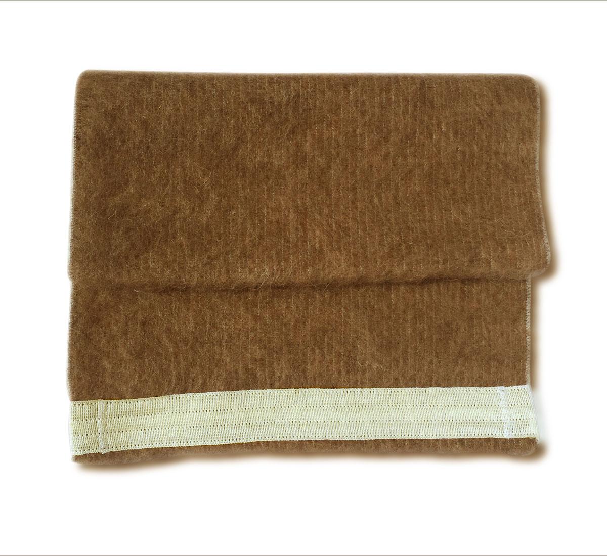 Пояс-бандаж согревающий, верблюжья шерсть, размер 7 (талия 110-120) (ИМН)