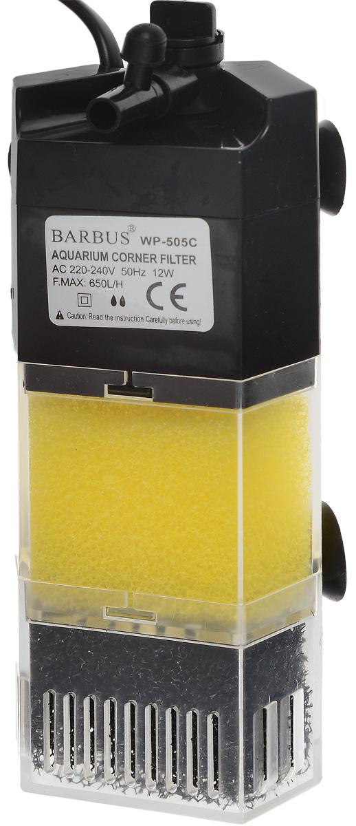 Био-фильтр секционный Barbus WP-505C, 400 л/ч, 8 ВтFILTER 007Фильтр Barbus WP-505C предназначен для фильтрации воды в аквариумах. Секционная конструкция дает возможность использовать нижнюю ступень фильтра для заполнения био-наполнителями. Механическая фильтрация происходит за счет губки, которая поглощает грязь и очищает воду. Имеет регулятор силы потока с возможностью изменения его направления в радиусе 45°. Подходит для пресной и соленой воды. Фильтр полностью погружной. Мощность: 8 Вт. Напряжение: 220-240В. Частота: 50/60 Гц. Производительность: 400 л/ч. Рекомендованный объем аквариума: 0-60 л.