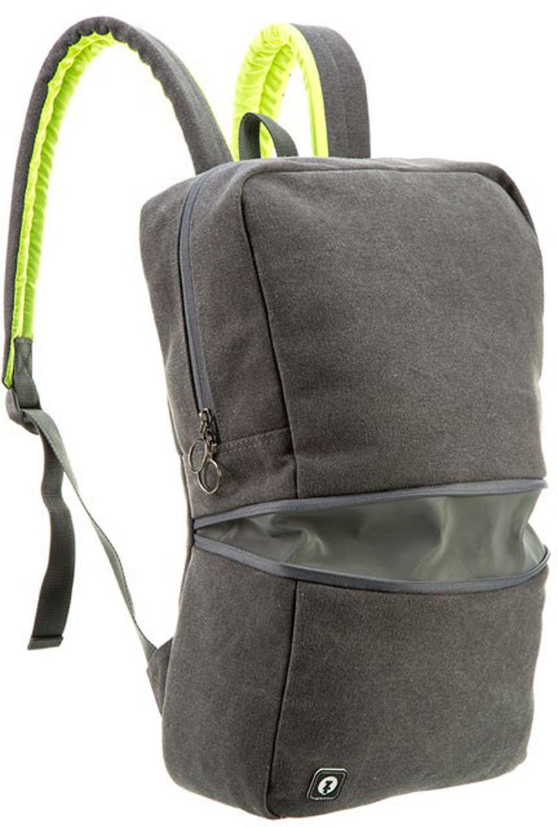 """Zipit Рюкзак Reflecto цвет серыйZRFLC-WTИдеально подходит для Велоспорта - создан специально как для велосипедистов, так и для повседневной носки. Откройте горизонтальную молнию, чтобы раскрыть светоотражающую полосу для дополнительной безопасности. Удобный, мягкий, регулируемые плечевые ремни. Есть отделение для ноутбука 14"""", плюс - для книг, личных вещей и многого другого. Скрытый задний карман идеально подходит для небольших ценных вещей. Легкий уход - молния закрыта и стирать на деликатном режиме (30 ° С Макс / 86f нормальное) для легкого ухода. На молнии светоотражающие полосы-умная функция, которая обеспечивает дополнительную безопасность."""