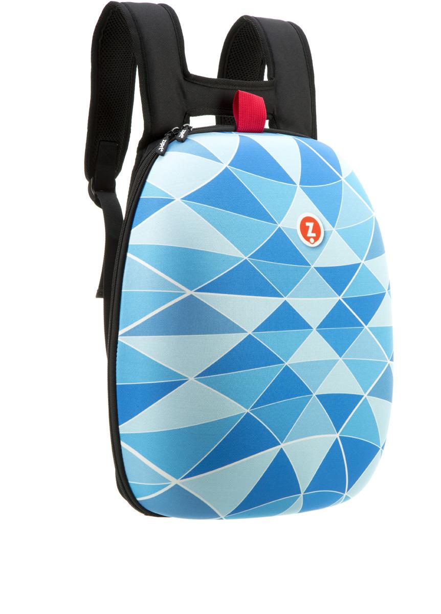 Zipit Рюкзак Shell Backpacks цвет голубойZSHL-BTПрочный жесткий рюкзак в мягкой обшивке на молнии сохранить все в целости и сохранности.Размеры: 11,8 дюйма (300 мм) х 16,5 дюймов (420 мм) х 6 дюймов (150мм.) Мягкая спинка, регулируемые ремни - обеспечат удобство и комфорт. Регулируемые лямки обеспечат плотную посадку. В рюкзаке у вас все будет в порядке - внутри несколько секций, так что есть место для всего! 8 классных дизайнов! Есть выбор для каждого: от гладкого серого цвета до смелых, красочных графических узоров, которые выглядят супер стильно. Легкий уход - молния закрыта и стирать на деликатном режиме(30 ° С Макс / 86f нормальное).