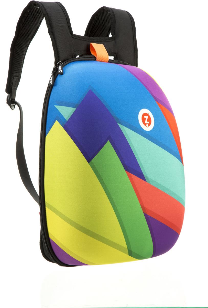 Zipit Рюкзак Shell Backpacks цвет мультиZSHL-CTПрочный жесткий рюкзак в мягкой обшивке на молнии сохранить все в целости и сохранности.Размеры: 11,8 дюйма (300 мм) х 16,5 дюймов (420 мм) х 6 дюймов (150мм.) Мягкая спинка, регулируемые ремни - обеспечат удобство и комфорт. Регулируемые лямки обеспечат плотную посадку. В рюкзаке у вас все будет в порядке - внутри несколько секций, так что есть место для всего! 8 классных дизайнов! Есть выбор для каждого: от гладкого серого цвета до смелых, красочных графических узоров, которые выглядят супер стильно. Легкий уход - молния закрыта и стирать на деликатном режиме(30 ° С Макс / 86f нормальное).