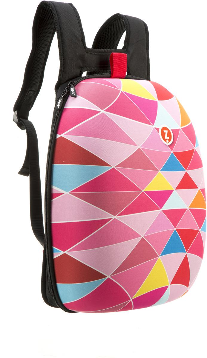 Zipit Рюкзак Shell Backpacks цвет розовыйZSHL-PKTПрочный жесткий рюкзак в мягкой обшивке на молнии сохранить все в целости и сохранности.Размеры: 11,8 дюйма (300 мм) х 16,5 дюймов (420 мм) х 6 дюймов (150мм.) Мягкая спинка, регулируемые ремни - обеспечат удобство и комфорт. Регулируемые лямки обеспечат плотную посадку. В рюкзаке у вас все будет в порядке - внутри несколько секций, так что есть место для всего! 8 классных дизайнов! Есть выбор для каждого: от гладкого серого цвета до смелых, красочных графических узоров, которые выглядят супер стильно. Легкий уход - молния закрыта и стирать на деликатном режиме(30 ° С Макс / 86f нормальное).