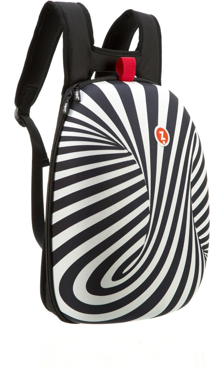 Zipit Рюкзак Shell Backpacks цвет черный белыйZSHL-BWSПрочный жесткий рюкзак в мягкой обшивке на молнии сохранить все в целости и сохранности.Размеры: 11,8 дюйма (300 мм) х 16,5 дюймов (420 мм) х 6 дюймов (150мм.) Мягкая спинка, регулируемые ремни - обеспечат удобство и комфорт. Регулируемые лямки обеспечат плотную посадку. В рюкзаке у вас все будет в порядке - внутри несколько секций, так что есть место для всего! 8 классных дизайнов! Есть выбор для каждого: от гладкого серого цвета до смелых, красочных графических узоров, которые выглядят супер стильно. Легкий уход - молния закрыта и стирать на деликатном режиме(30 ° С Макс / 86f нормальное).