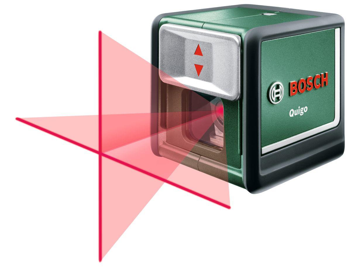 Лазерный нивелир Bosch Quigo III, 0603663521