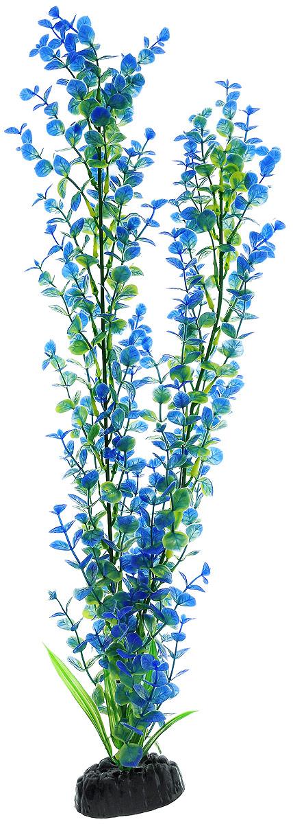 Растение для аквариума Barbus Бакопа, пластиковое, цвет: зеленый, синий, высота 50 смPlant 026/50Растение для аквариума Barbus Бакопа, выполненное из качественного пластика, станет оригинальным украшением вашего аквариума. Пластиковое растение идеально подходит для дизайна всех видов аквариумов. Оно абсолютно безопасно, нейтрально к водному балансу, устойчиво к истиранию краски, подходит как для пресноводного, так и для морского аквариума. Растение для аквариума Barbus поможет вам смоделировать потрясающий пейзаж на дне вашего аквариума или террариума. Высота растения: 50 см.