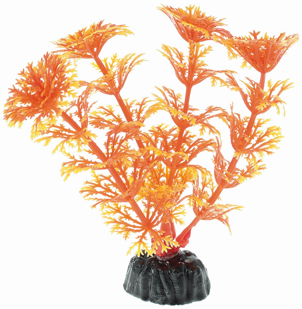 Растение для аквариума Barbus Кабомба, пластиковое, цвет: желто-оранжевый, высота 10 смPlant 021/10Растение Barbus Кабомба, выполненное из высококачественного нетоксичного пластика, станет оригинальным украшением вашего аквариума. Пластиковое растение идеально подходит для дизайна всех видов аквариумов. В воде происходит абсолютная имитация живых растений. Изделие не требует дополнительного ухода и просто в применении. Оно абсолютно безопасно, нейтрально к водному балансу, устойчиво к истиранию краски, подходит как для пресноводного, так и для морского аквариума. Растение для аквариума Barbus Кабомба поможет вам смоделировать потрясающий пейзаж на дне вашего аквариума. Высота растения: 10 см.