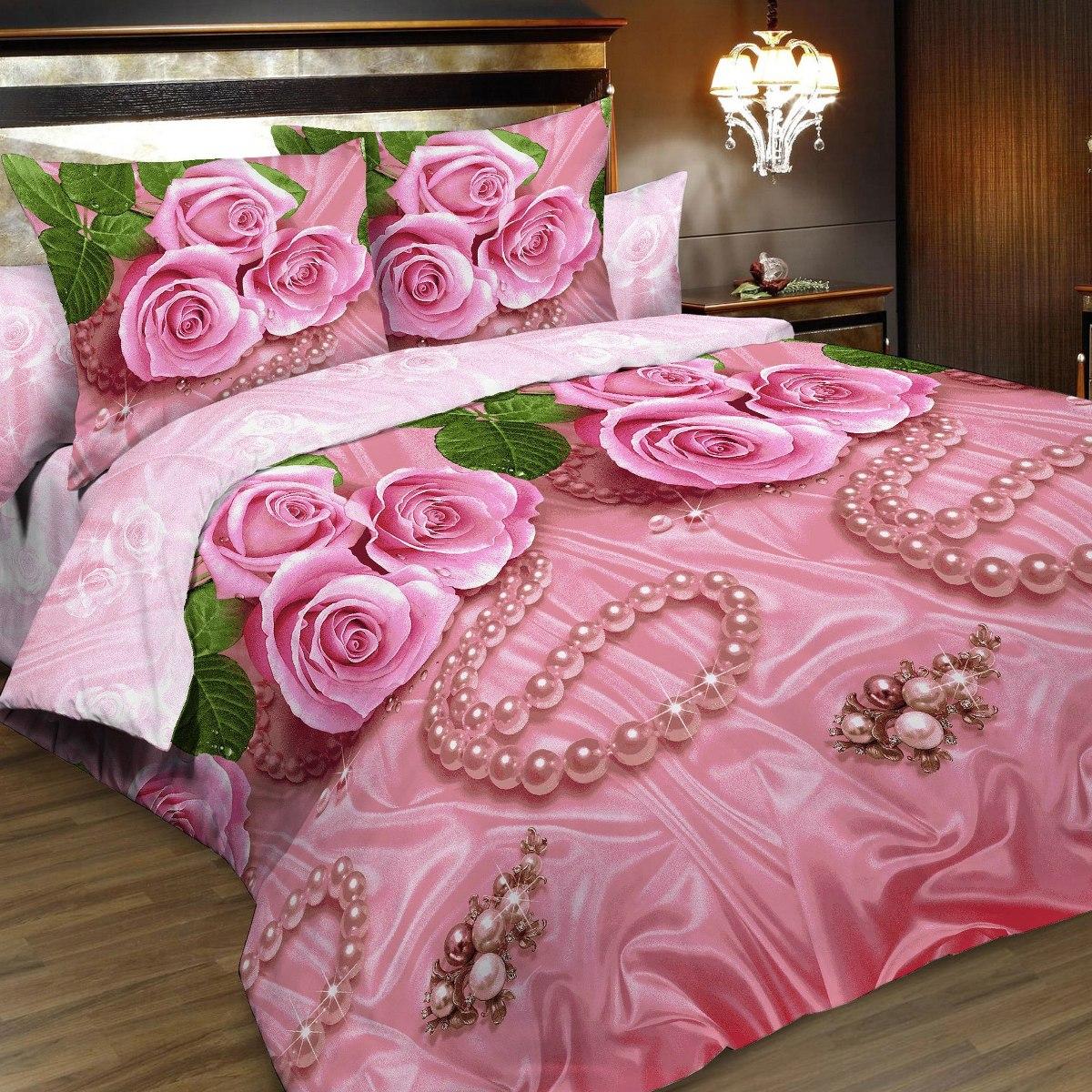 Комплект белья Letto, 2-спальный, наволочки 70х70. B161-4B161-4Комплект постельного белья Letto выполнен из классической российской бязи (хлопка). Комплект состоит из пододеяльника, простыни и двух наволочек. Постельное белье, оформленное ярким цветочным 3D изображением, имеет изысканный внешний вид. Пододеяльник снабжен молнией. Благодаря такому комплекту постельного белья вы сможете создать атмосферу роскоши и романтики в вашей спальне. Уважаемые клиенты! Обращаем ваше внимание на тот факт, что расцветка наволочек может отличаться от представленной на фото.