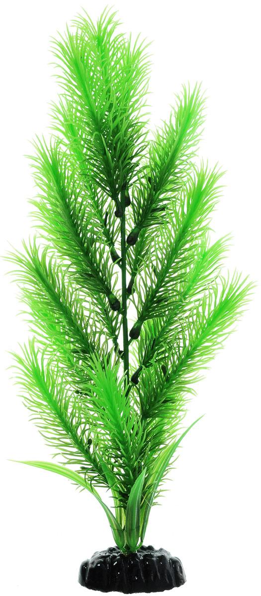 Растение для аквариума Barbus Перистолистник зеленый, пластиковое, высота 30 смPlant 028/30Растение для аквариума Barbus Перистолистник зеленый, выполненное из качественного пластика, станет прекрасным украшением вашего аквариума. Пластиковое растение идеально подходит для дизайна всех видов аквариумов. Оно абсолютно безопасно, нейтрально к водному балансу, устойчиво к истиранию краски, подходит как для пресноводного, так и для морского аквариума. Растение для аквариума Barbus поможет вам смоделировать потрясающий пейзаж на дне вашего аквариума или террариума. Высота растения: 30 см.