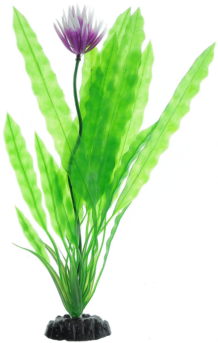 Растение для аквариума Barbus Апоногетон курчавый, пластиковое, высота 30 смPlant 029/30Растение Barbus Апоногетон курчавый, выполненное из высококачественного нетоксичного пластика, станет оригинальным украшением вашего аквариума. Пластиковое растение идеально подходит для дизайна всех видов аквариумов. В воде происходит абсолютная имитация живых растений. Изделие не требует дополнительного ухода. Растение абсолютно безопасно, нейтрально к водному балансу, устойчиво к истиранию краски, подходит как для пресноводного, так и для морского аквариума. Растение для аквариума Barbus Апоногетон курчавый поможет вам смоделировать потрясающий пейзаж на дне вашего аквариума. Высота растения: 30 см.