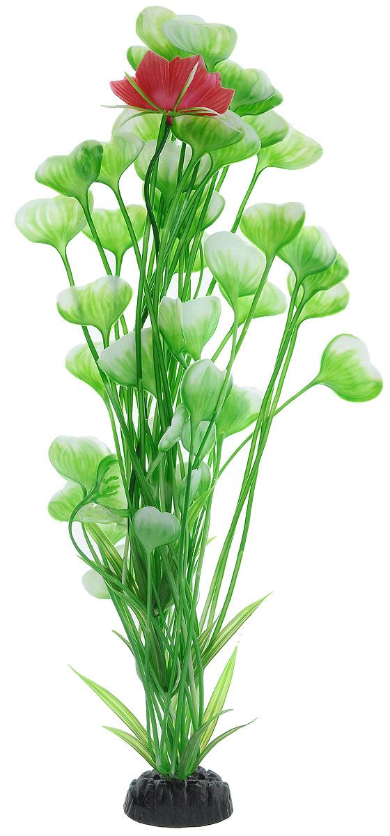 Растение для аквариума Barbus Кувшинка с цветком, пластиковое, высота 50 смPlant 018/50Растение для аквариума Barbus Кувшинка с цветком, выполненное из качественного пластика, станет оригинальным украшением вашего аквариума. Пластиковое растение идеально подходит для дизайна всех видов аквариумов. Оно абсолютно безопасно, нейтрально к водному балансу, устойчиво к истиранию краски, подходит как для пресноводного, так и для морского аквариума. Растение для аквариума Barbus поможет вам смоделировать потрясающий пейзаж на дне вашего аквариума или террариума. Высота растения: 50 см.