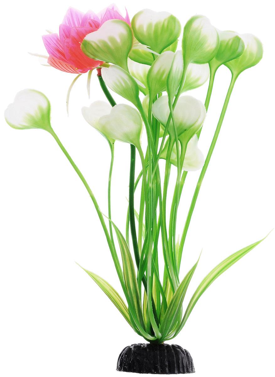 Растение для аквариума Barbus Кувшинка с цветком, пластиковое, высота 20 смPlant 018/20Растение для аквариума Barbus Кувшинка с цветком, выполненное из качественного пластика, станет оригинальным украшением вашего аквариума. Пластиковое растение идеально подходит для дизайна всех видов аквариумов. Оно абсолютно безопасно, нейтрально к водному балансу, устойчиво к истиранию краски, подходит как для пресноводного, так и для морского аквариума. Растение для аквариума Barbus поможет вам смоделировать потрясающий пейзаж на дне вашего аквариума или террариума. Высота растения: 20 см.
