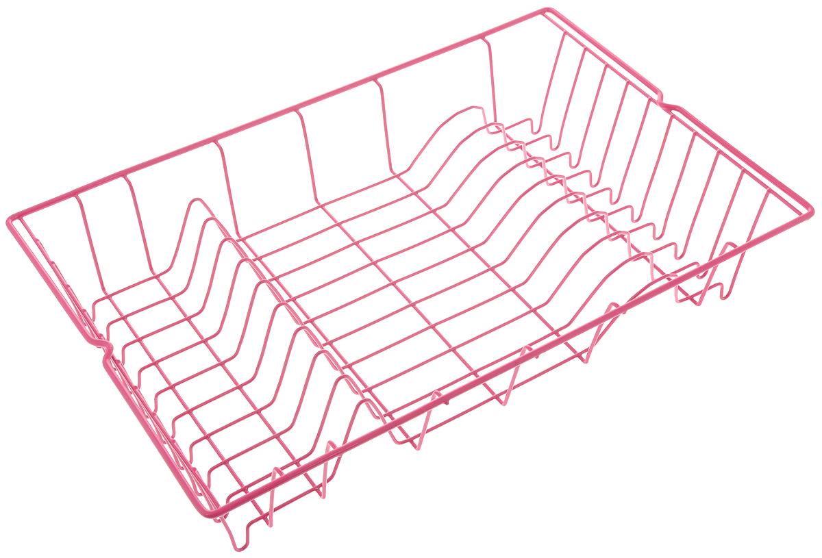 Сушилка для посуды Metaltex Germatex, цвет: малиновый, 48 х 30 х 10 см32.01.45/94-528_малиновыйСушилка Metaltex Germatex, изготовленная из стали, представляет собой решетку с ячейками для посуды. Сушилка Metaltex Germatex не займет много места на вашей кухне. Вы сможете разместить на ней большое количество предметов. Компактные размеры и оригинальный дизайн выделяют эту сушилку из ряда подобных. Размер сушилки: 48 х 30 х 10 см.