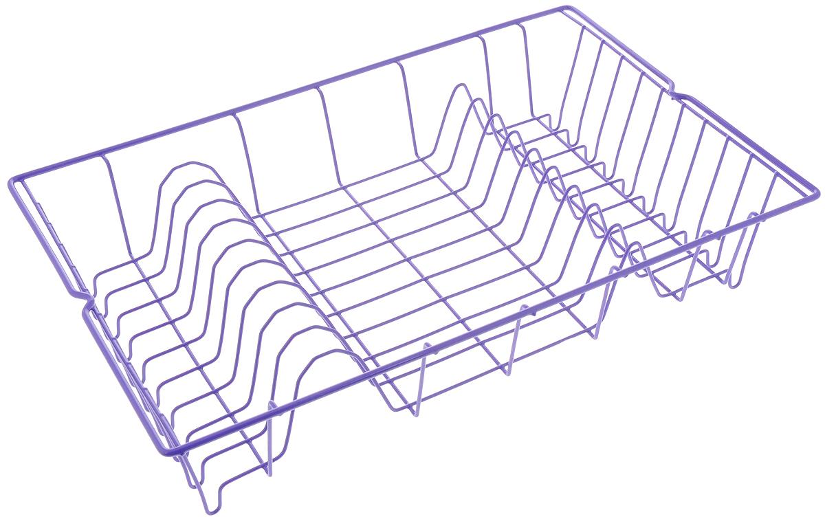 Сушилка для посуды Metaltex Germatex, цвет: фиолетовый, 48 х 30 х 10 см32.01.45/94-528_фиолетовыйСушилка Metaltex Germatex, изготовленная из стали, представляет собой решетку с ячейками для посуды. Сушилка Metaltex Germatex не займет много места на вашей кухне. Вы сможете разместить на ней большое количество предметов. Компактные размеры и оригинальный дизайн выделяют эту сушилку из ряда подобных. Размер сушилки: 48 х 30 х 10 см.