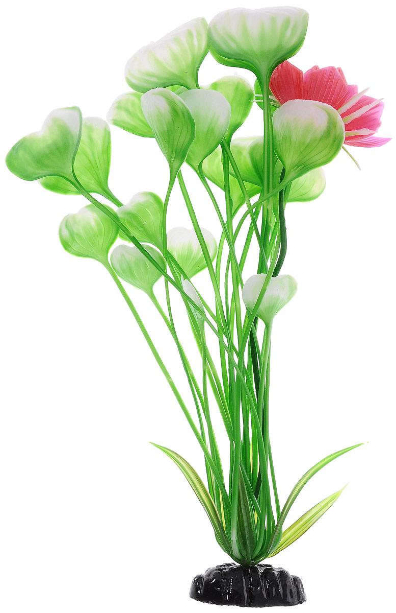 Растение для аквариума Barbus Кувшинка с цветком, пластиковое, высота 30 смPlant 018/30Растение для аквариума Barbus Кувшинка с цветком, выполненное из качественного пластика, станет оригинальным украшением вашего аквариума. Пластиковое растение идеально подходит для дизайна всех видов аквариумов. Оно абсолютно безопасно, нейтрально к водному балансу, устойчиво к истиранию краски, подходит как для пресноводного, так и для морского аквариума. Растение для аквариума Barbus поможет вам смоделировать потрясающий пейзаж на дне вашего аквариума или террариума. Высота растения: 30 см.