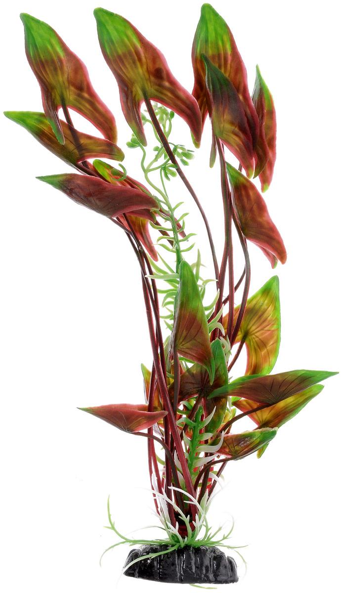 Растение для аквариума Barbus Водная Калла, пластиковое, высота 30 смPlant 008/30Растение Barbus Водная Калла, выполненное из высококачественного нетоксичного пластика, станет прекрасным украшением вашего аквариума. Пластиковое растение идеально подходит для дизайна всех видов аквариумов. В воде происходит абсолютная имитация живых растений. Изделие не требует дополнительного ухода. Оно абсолютно безопасно, нейтрально к водному балансу, устойчиво к истиранию краски, подходит как для пресноводного, так и для морского аквариума. Растение для аквариума Barbus Водная Калла поможет вам смоделировать потрясающий пейзаж на дне вашего аквариума. Высота растения: 30 см.